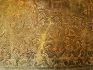 Asisbiz Angkor Wat Bas relief W Gallery N Wing Battle of Lanka 12