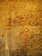 Asisbiz Angkor Wat Bas relief W Gallery N Wing Battle of Lanka 14