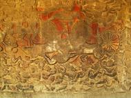 Asisbiz Angkor Wat Bas relief W Gallery N Wing Battle of Lanka 29