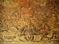 Asisbiz Angkor Wat Bas relief W Gallery N Wing Battle of Lanka 32