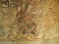 Asisbiz Angkor Wat Bas relief W Gallery N Wing Battle of Lanka 37
