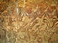 Asisbiz Angkor Wat Bas relief W Gallery N Wing Battle of Lanka 39