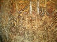 Asisbiz Angkor Wat Bas relief W Gallery N Wing Battle of Lanka 40