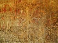 Asisbiz Angkor Wat Bas relief W Gallery N Wing Battle of Lanka 45