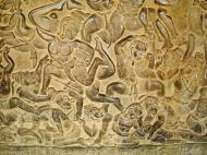 Asisbiz Angkor Wat Bas relief W Gallery N Wing Battle of Lanka 51