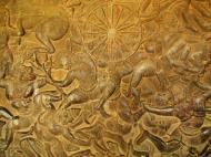 Asisbiz Angkor Wat Bas relief W Gallery N Wing Battle of Lanka 54