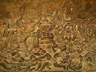 Asisbiz Angkor Wat Bas relief W Gallery N Wing Battle of Lanka 57