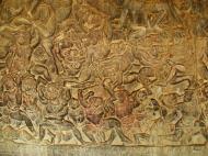 Asisbiz Angkor Wat Bas relief W Gallery N Wing Battle of Lanka 62