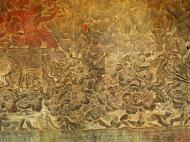 Asisbiz Angkor Wat Bas relief W Gallery N Wing Battle of Lanka 67