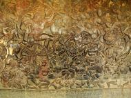 Asisbiz Angkor Wat Bas relief W Gallery N Wing Battle of Lanka 69