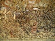 Asisbiz Angkor Wat Bas relief W Gallery N Wing Battle of Lanka 70