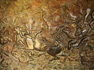Asisbiz Angkor Wat Bas relief W Gallery N Wing Battle of Lanka 74