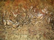 Asisbiz Angkor Wat Bas relief W Gallery N Wing Battle of Lanka 75