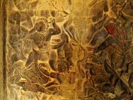 Asisbiz Angkor Wat Bas relief W Gallery N Wing Battle of Lanka 79