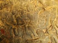 Asisbiz Angkor Wat Bas relief W Gallery N Wing Battle of Lanka 80