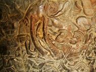 Asisbiz Angkor Wat Bas relief W Gallery N Wing Battle of Lanka 81