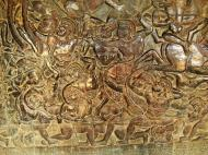 Asisbiz Angkor Wat Bas relief W Gallery N Wing Battle of Lanka 82