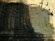 Asisbiz Angkor Wat Khmer architecture bas relief devatas Siem Reap 07