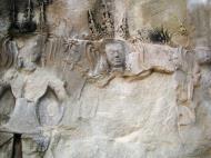 Asisbiz Angkor Wat Khmer architecture bas relief devatas Siem Reap 15