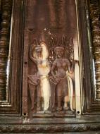 Asisbiz Angkor Wat Khmer architecture bas relief devatas Siem Reap 20