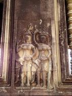 Asisbiz Angkor Wat Khmer architecture bas relief devatas Siem Reap 22