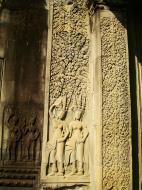 Asisbiz Angkor Wat Khmer architecture bas relief devatas Siem Reap 49