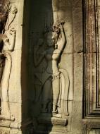 Asisbiz Angkor Wat Khmer architecture bas relief devatas Siem Reap 54