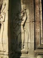 Asisbiz Angkor Wat Khmer architecture bas relief devatas Siem Reap 55