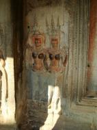 Asisbiz Angkor Wat Khmer architecture bas relief devatas Siem Reap 67