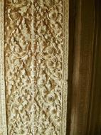 Asisbiz Decorative 12th ce Khmer Style bas relief carvings Angkor Wat 03