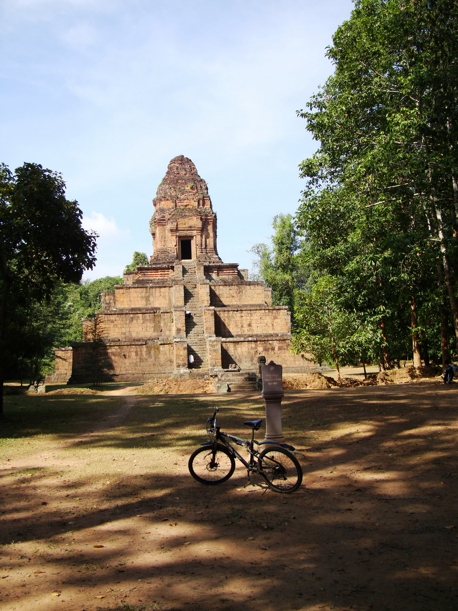 Baksei Chamkrong Temple Angkor Siem Reap Cambodia Jan 2010 07