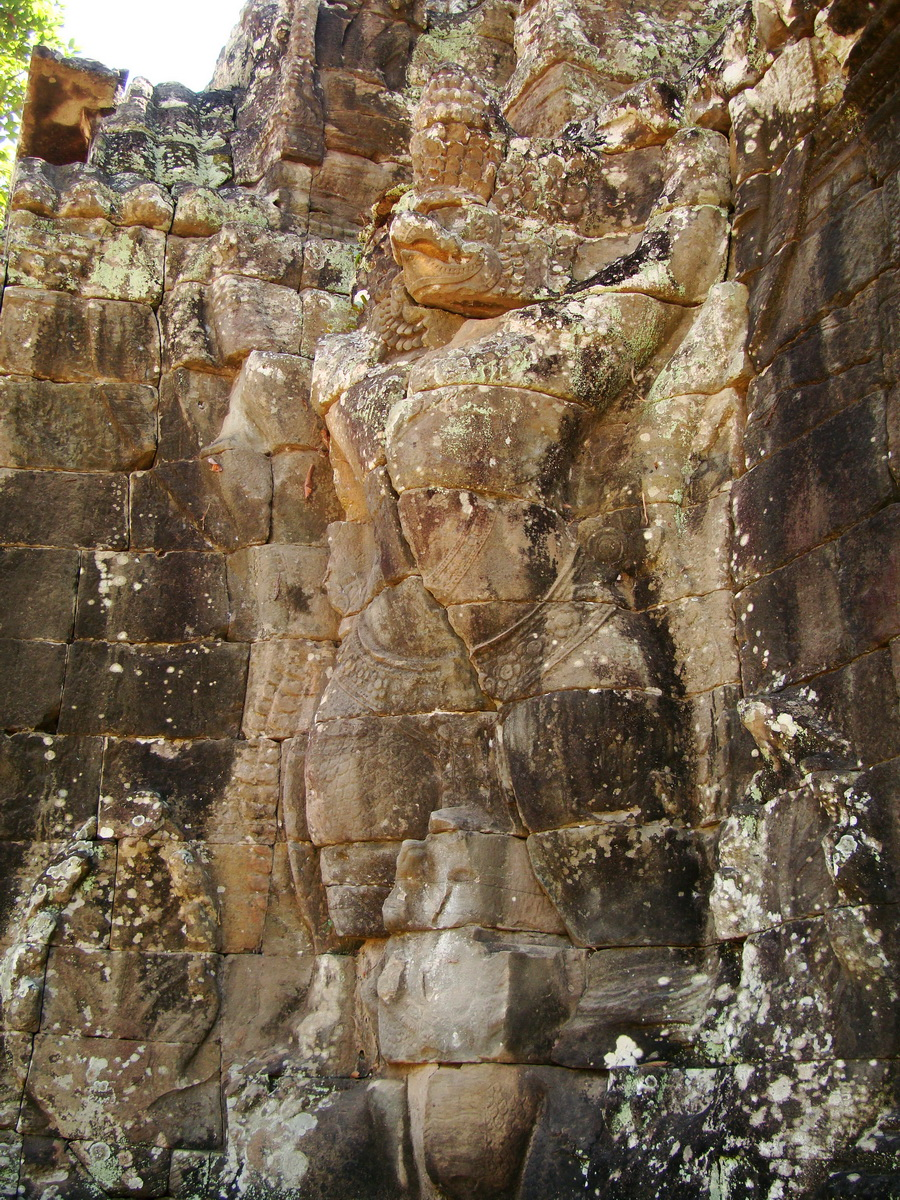 A Banteay Kdei Temple Gopura IV E Bayon style 4 faces 06