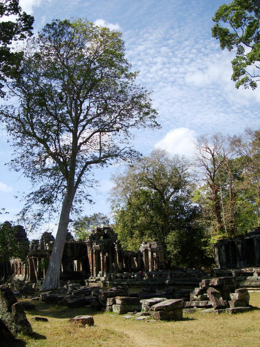 C Banteay Kdei Temple Gopura II E Angkor Jan 2010 01