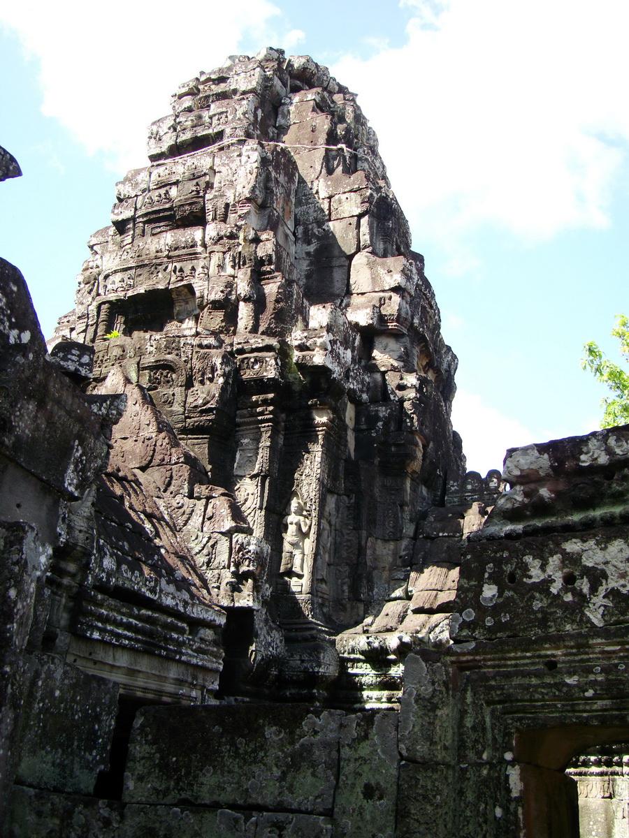 D Banteay Kdei Temple central sanctuary tower 08