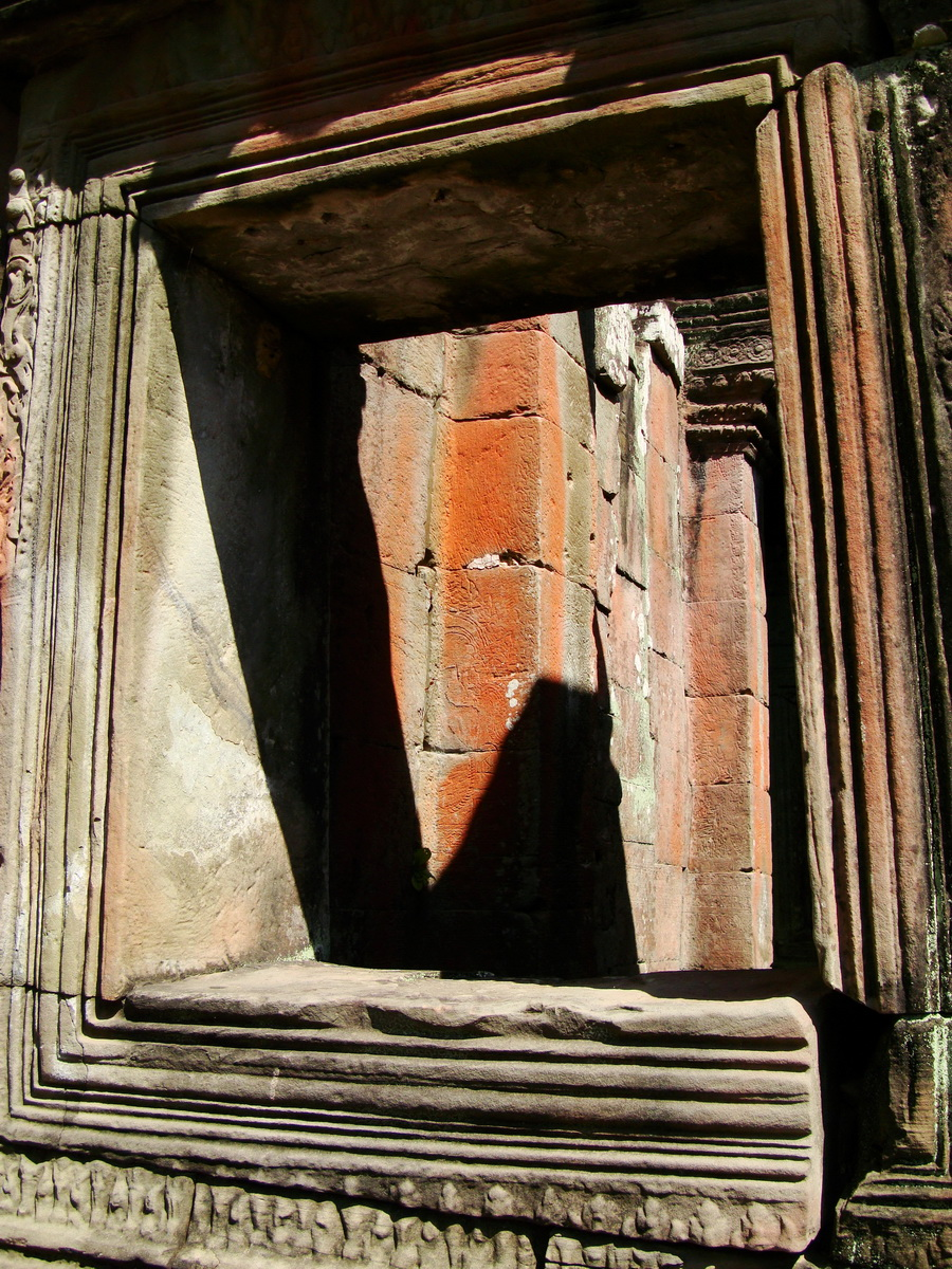 D Banteay Kdei Temple main enclosure inner passageways 16