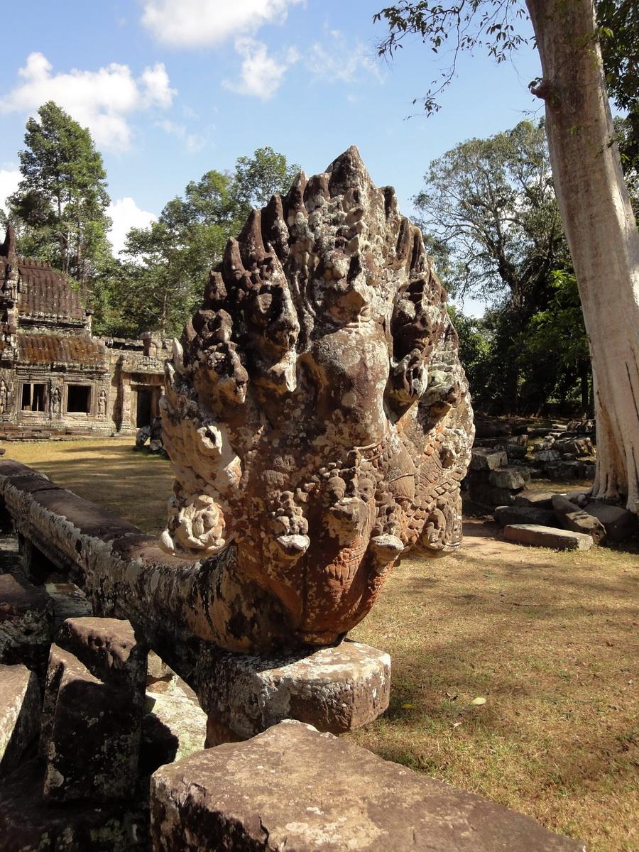 E Banteay Kdei Temple Gopura III W Bayon style 11