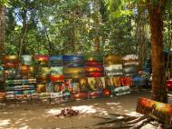 Asisbiz 1 Banteay Kdei Temple local artists display their works 01