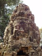 Asisbiz A Banteay Kdei Temple Gopura IV E Bayon style 4 faces 04