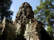 Asisbiz A Banteay Kdei Temple Gopura IV E Bayon style 4 faces 09