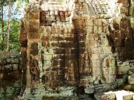 Asisbiz A Banteay Kdei Temple Gopura IV E Bayon style 4 faces 11