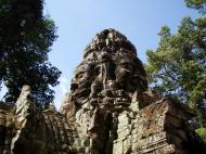 Asisbiz A Banteay Kdei Temple Gopura IV E Bayon style 4 faces 12
