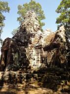 Asisbiz A Banteay Kdei Temple Gopura IV E Bayon style 4 faces 17