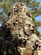 Asisbiz A Banteay Kdei Temple Gopura IV E Bayon style 4 faces 18