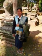 Asisbiz A Banteay Kdei Temple most gifted sales person I ever meet 01