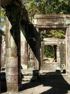 Asisbiz C Banteay Kdei Temple hall of dancers Bas relief dancing apsaras 06