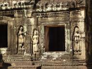 Asisbiz C Banteay Kdei Temple hall of dancers Bas relief deva 01
