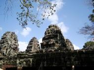 Asisbiz D Banteay Kdei Temple Gopuram Western Entry towers Angkor 01