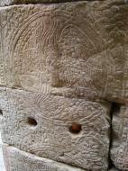 Asisbiz D Banteay Kdei Temple central sanctuary Bas reliefs 03
