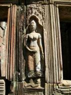 Asisbiz D Banteay Kdei Temple main enclosure Bas relief devas 19