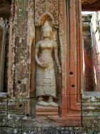 Asisbiz D Banteay Kdei Temple main enclosure Bas relief devas 23